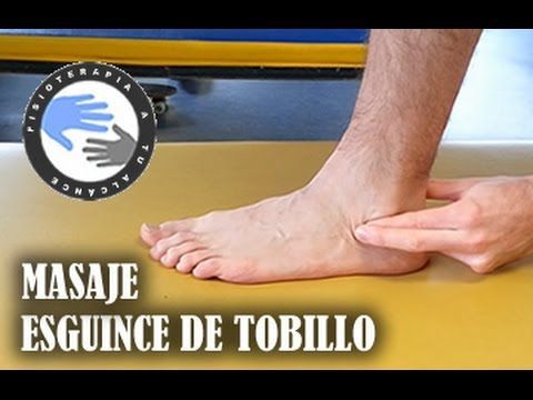 Auto-masaje para mejorar la tendinitis del tendón Aquiles o Aquilea - YouTube