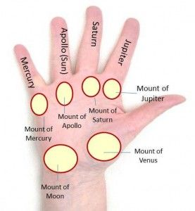 Palmistry | Meanings | Traits and Characteristics | Lines | Markings |