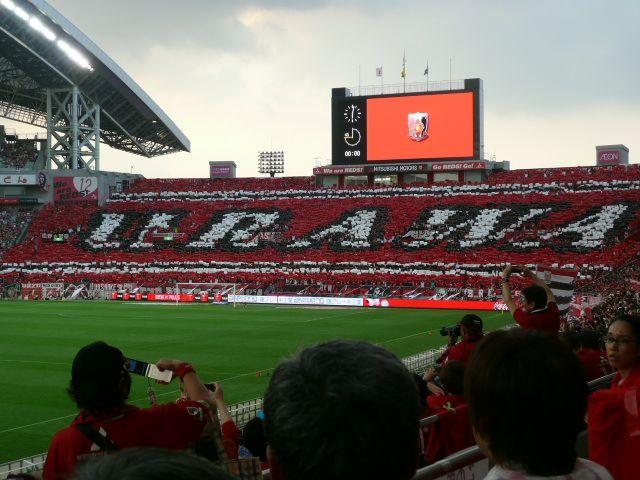 相変わらず浦和レッズのビジュアルは凄い!