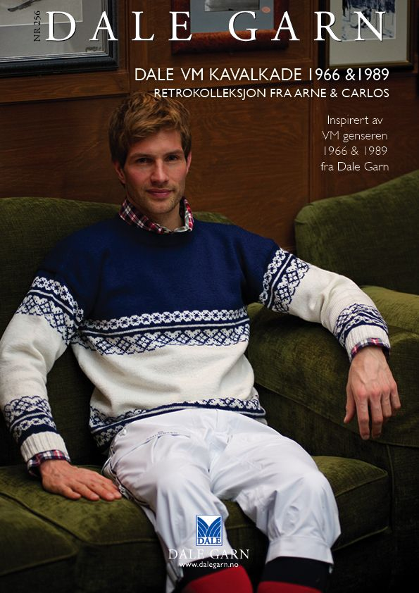 #DaleGarn Free Download Patterns DG256 VM Kavalkade 1966-1989 #Retro #ArneOgCarlos