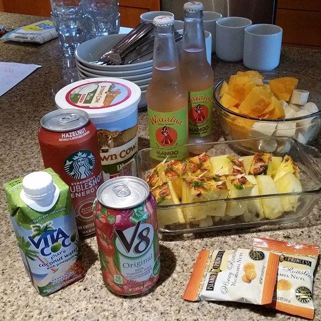 lrin3402パイナップル、パパイヤ、バナナ、フルーツが美味しすぎる❤ #朝ごはん #朝食 #フルーツ #おうちごはん #ハワイ #コンドミニアム #breakfast #hawaii