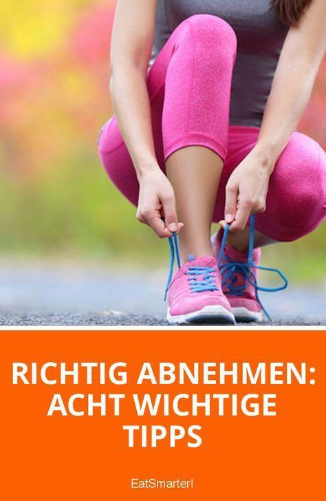Richtig abnehmen: Acht wichtige Tipps | eatsmarter.de