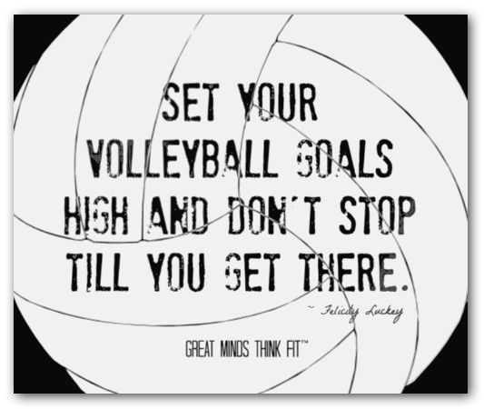 Volleyball cheers quotes