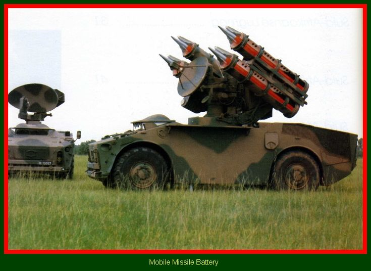 SADF.info Cactus Missile Launcher & Radar Tracker - mobile Missile Battery