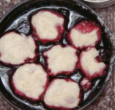 Cajun Blackberry Dumplings | What2Cook