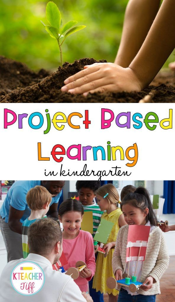This post has project based learning ideas for kindergarten that are adaptable for any elementary grade. It explain how to do project based learning and gives ideas for projects!