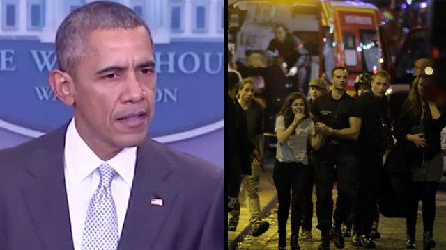 There's no speculation, idiot.  Apart from the obvious, they're claiming credit.  ::  Obama Statement on Paris Muslim Terror Attacks: 'I Don't Want to SPECULATE On Who Did This' | Top Right News