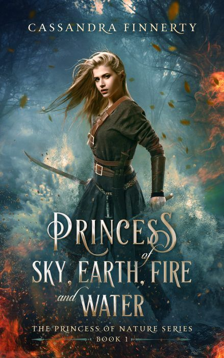 Princess of Sky, Earth, Fire and Water by Cassandra Finnerty