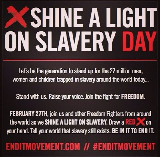 the fight to end slavery Resources that help you find actions you can take to end slavery now we can end human trafficking but we must act now.