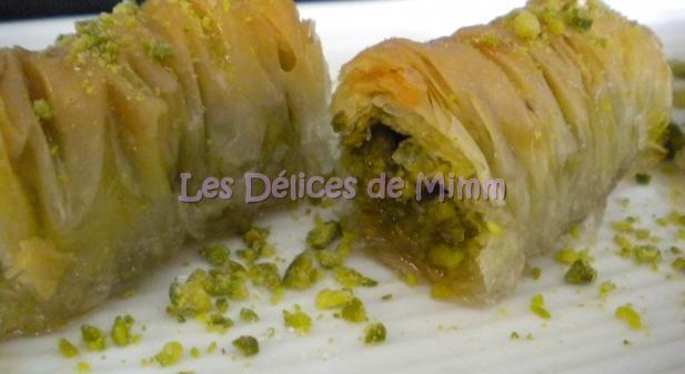 Recette - Baklavas rolls aux pistaches (recette libanaise) - Proposée par 750 grammes