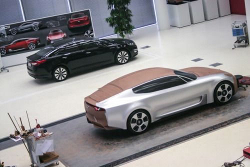 gashetka:2011   Kia GT Concept   Clay Model   Source