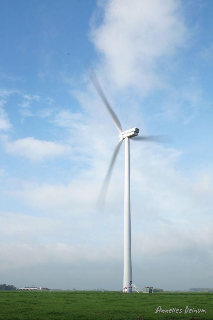 bewegingsonscherpte - lange sluitertijd - windmolen