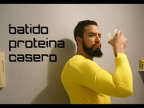 Batido de Proteína Casero Sin Suplementos para ganar masa muscular - Adicto al Fitness - YouTube