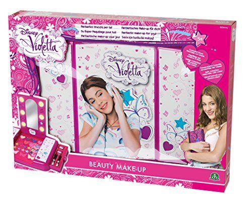 Violetta – 5178 – Maquillage – Beauty Make Up Vanity Case – coffret de maquillage: Descriptif produit: Tu peux te maquiller comme une star!…