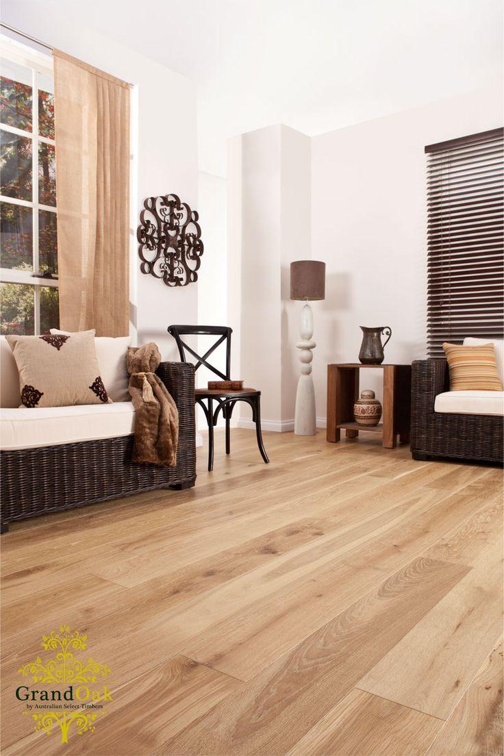 Grand Oak Timber Flooring: Uluru Oak House Show