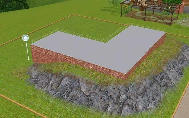 The Sims 3 Building Tutorials: Building on a Slope
