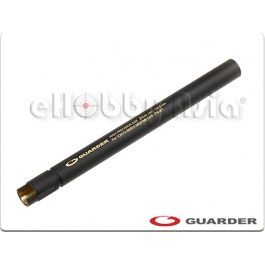 <b>Guarder Marui M9 Black Edition 6.02mm Inner Barrel (105.9mm)</b> -- BRASS Construction -- 6.02mm Internal diameter -- 105.9mm Length -- For Tokyo Marui M9 Series Airsoft Gas Blow Back GBB Pistol -- Black Color