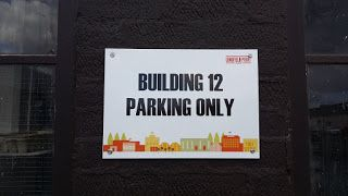 The Green I Signs Blog: Parking bay signs at Lingfield Point supplied & fi...
