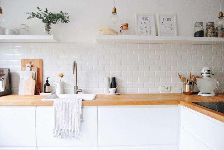 Küchen Ohne Hängeschränke | Kleine Küche Ohne ...