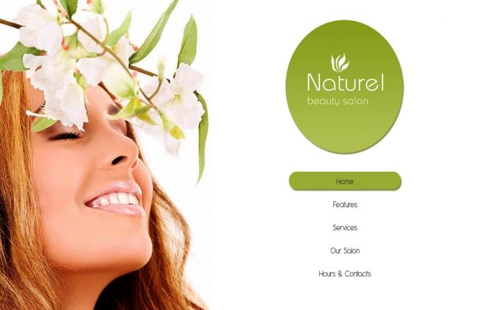 #Free Joomla 3.0 and 2.5 template for #beauty salon or online business. Clean #design and clear style.