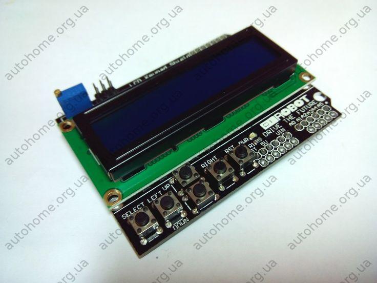 LCD Keypad Shield - ЖК-дисплеем ардуино | Купить