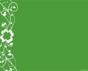 Free Clover Ornament PowerPoint template for PPT presentations