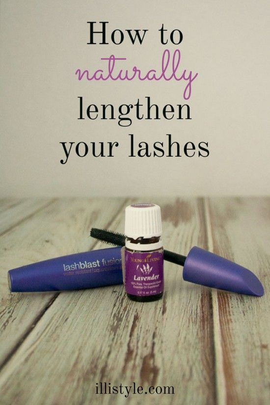 How to naturally lengthen your lashes with  2-3 drops of lavender essential oil in mascara tube -  illistyle.com