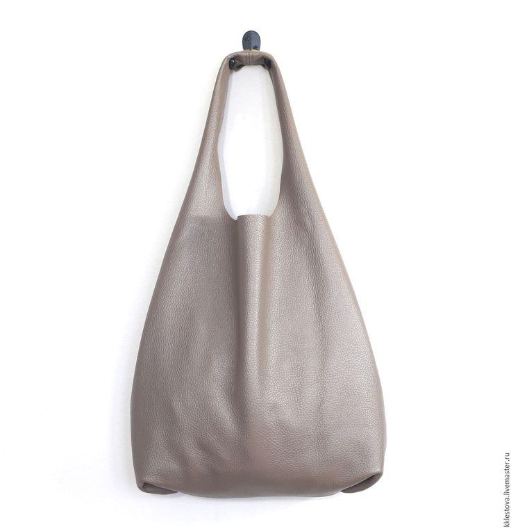 Купить Сумка - Мешок - Пакет - среднего размера - сумка мешок, шоппер, сумка майка, тоут