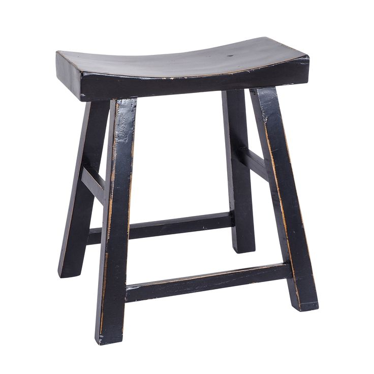 Limited Edition Tarquin Vintage Stool -  available in Black, White, Azure Blue.