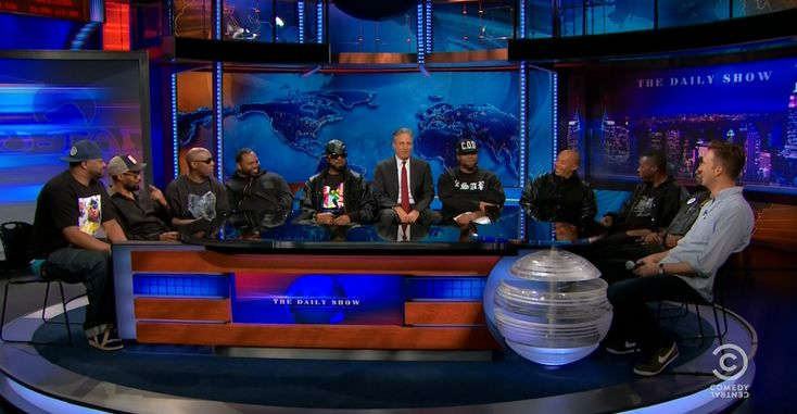 It really happened: all nine members of Wu-Tang Clan reunited on The Daily Show