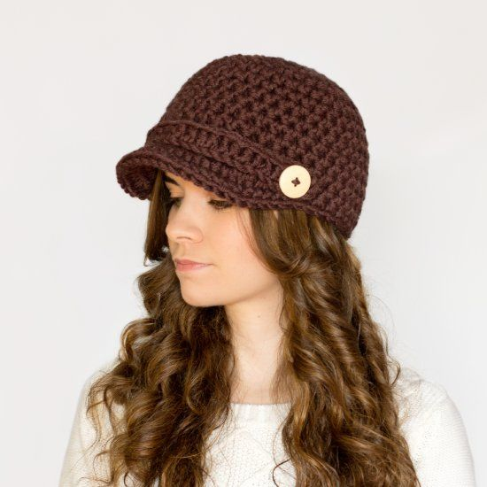 Create the ultimate chilly-day accessory, a nifty newsboy hat! Free crochet pattern available!