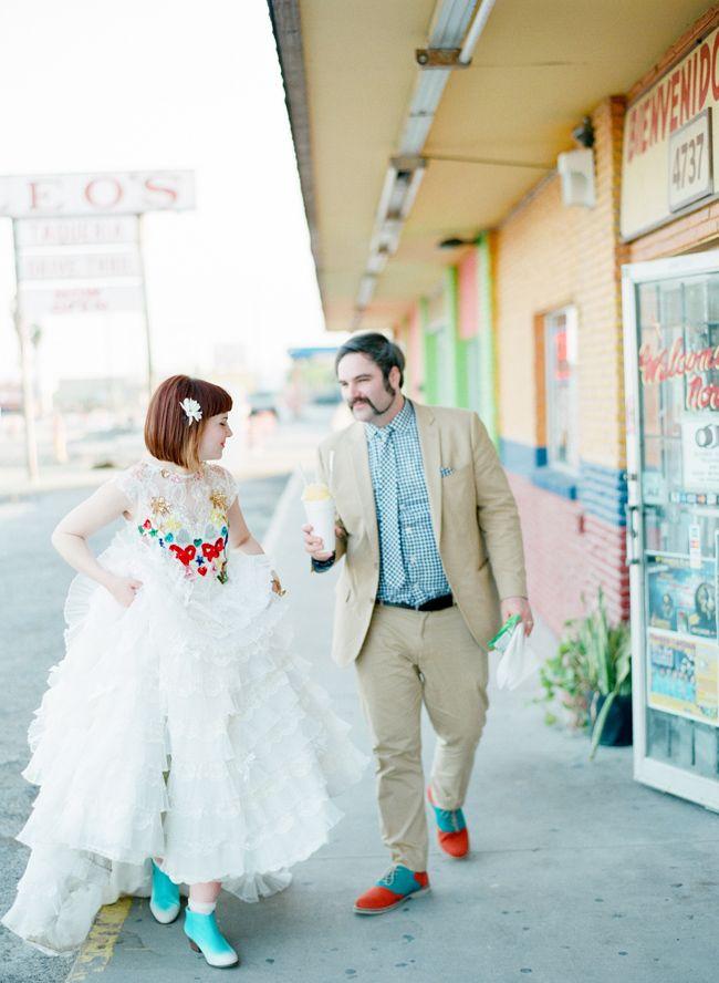 Eclectic Texas Wedding I Mi Amore Foto