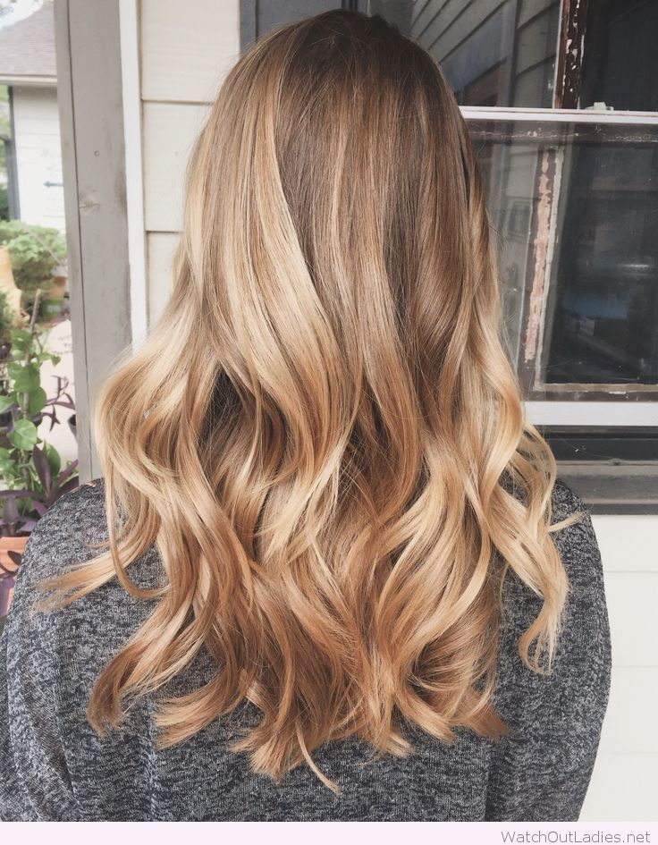 Amazing golden blonde balayage