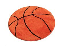Hot Sale Basketball Round Carpet Diameter 80/90/110/140cm Large Living Room Carpet Boys Bedroom Chair Rug Bathroom Mats tapete(China (Mainland))