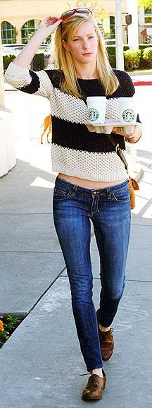 Heather Morris Out And About