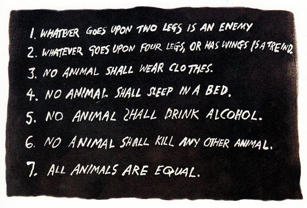 "Ralph Steadman's ""Animal Farm"" Illustrations: animalfarm_steadman8.jpg"