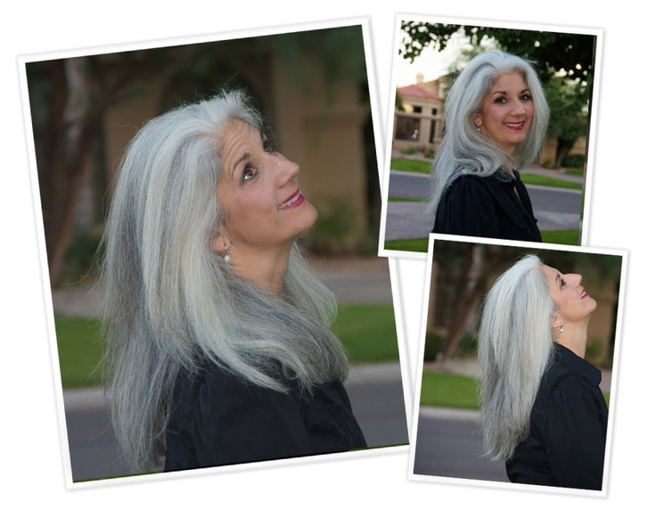 237 Best Stylish Gray Transition Images On Pinterest Grey Hair