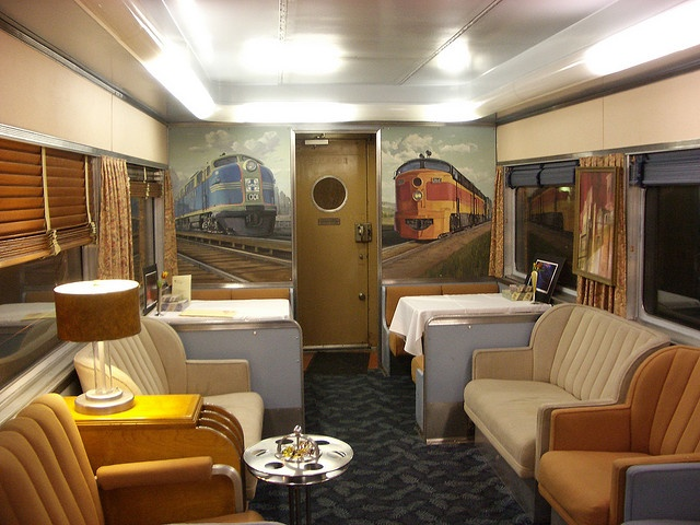 Train Chartering - Private rail car Overland Trail used for The City of Ember by Train Chartering & Private Rail Cars, via Flickr