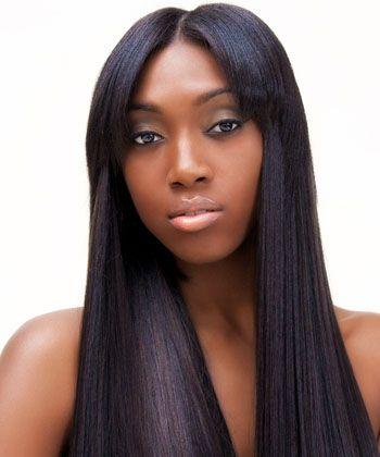 184 best Black Weave Hairstyles  Long Silky Straight images on Pinterest  Black weave