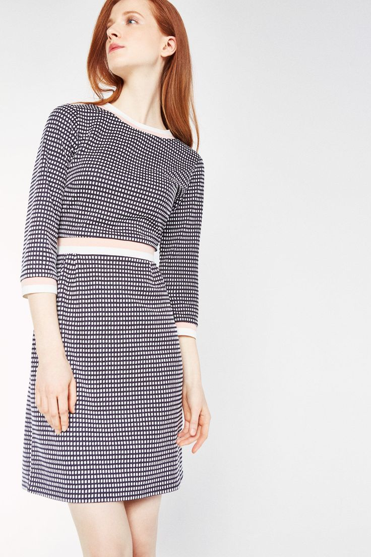 Checked dress | Dresses and jumpsuits | Cortefiel Man & Woman