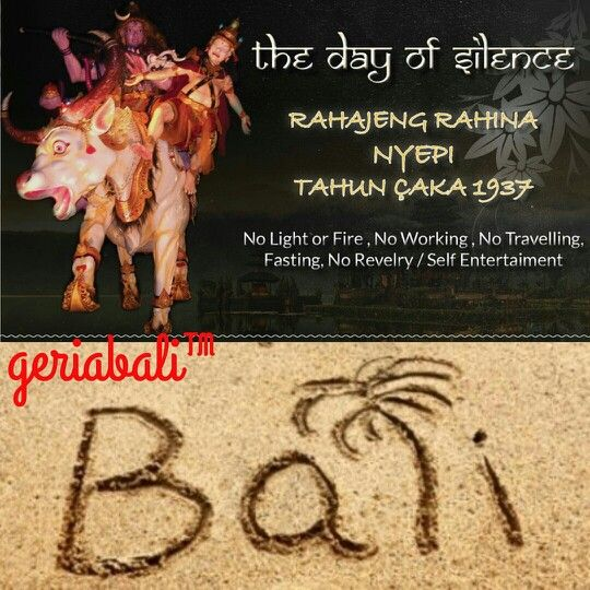 Geriabali & team mengucapkan selamat hari raya nyepi 1937.  www.geriabalivacation.com  #bali #nyepi #silent #nyepiday #balivillas #baliholiday #travel #balivacation #balihoneymoon #balivilla #balibali #balivillaforrent #ilovebali #geriabali #balibible #roomcritic #indo #Indonesia #balinese #nevergoingtoboycottbali