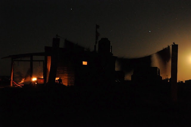 Cabo Polonio by night - No lights but the stars and the light house