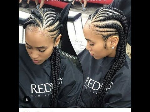 Cornrows African Hair Braiding : 2018 Styles You Will Want To Try