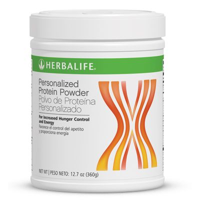 Personalized Protein Powder:   Get more protein! Protein can help you feel fuller longer and assist you with your weight-management, fitness and health goals. Help satisfy pesky hunger pangs by adding this fat-free, protein-enriched powder to your shakes or meals.  Key Benefits  Helps build and maintain lean muscle mass.  Fat-free protein supplement for hunger control.  Contains 5g of soy and whey protein, and all 9 essential amino acids. Infos and Orders at: www.goherbalife.com/goherb