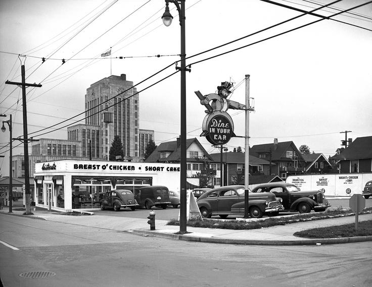 Mount Pleasant  - 1951  Aristocratic Restaurant at Cambie & 13th  VPL Accession Number: 81674C  Photographer / Studio: Artray  http://www3.vpl.ca/spe/histphotos/