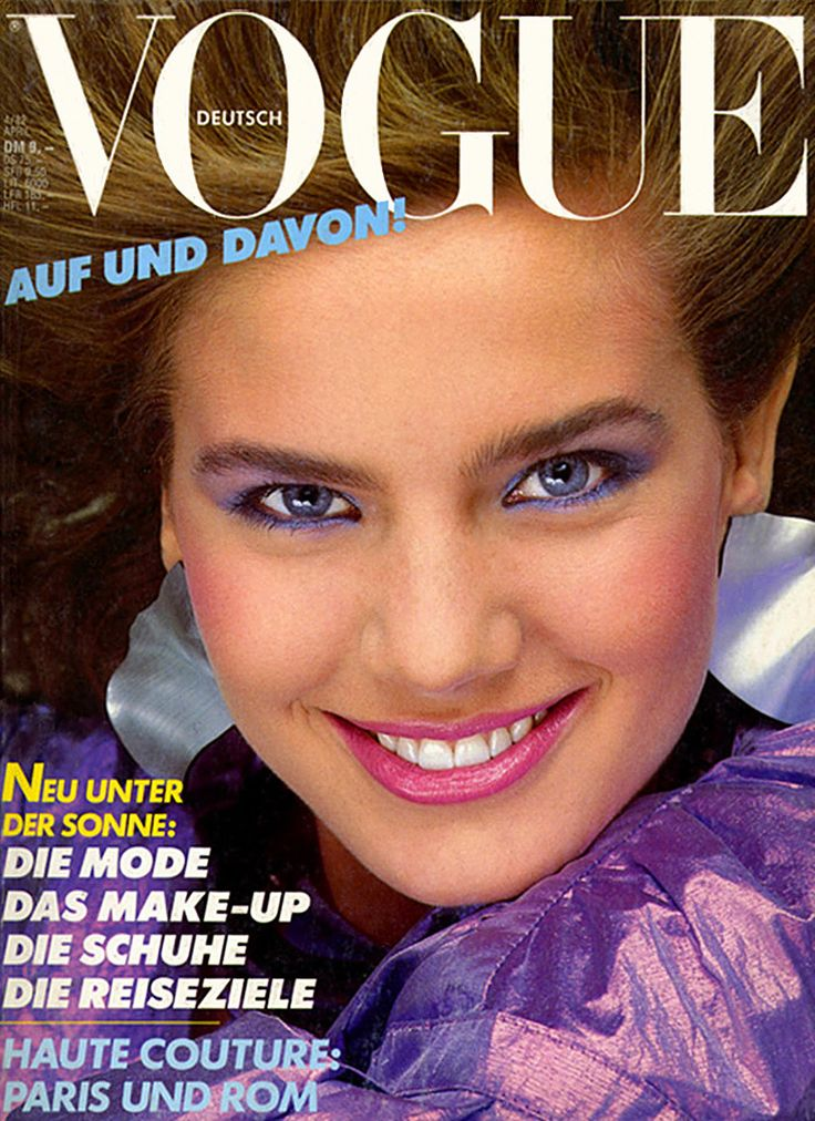 ACTRESS/MODEL-TERRY FARRELL,GERMAN VOGUE APRIL,1982 COVER                                                                                                                                                                                 More