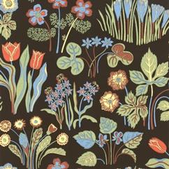 Josef Frank wallpaper.