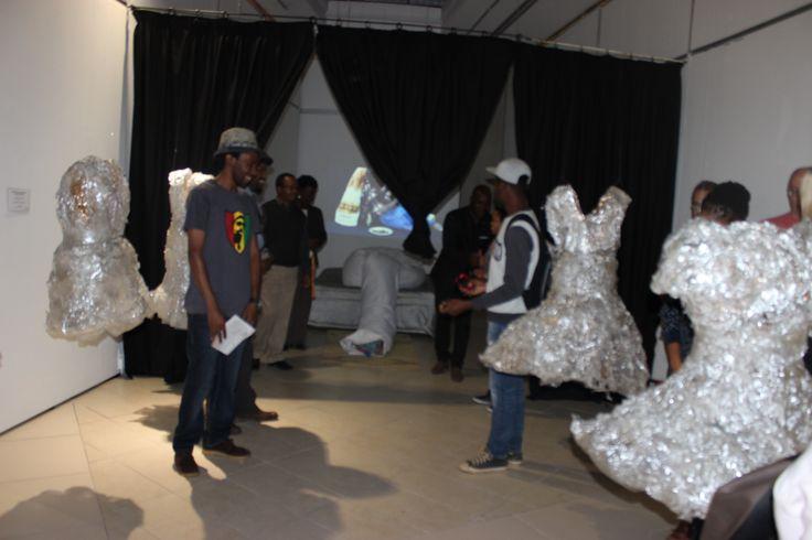 Featuring artist: Bongani Ntombela. Unisa Art Gallery, Masters in Visual Arts Student Exhibition 2015