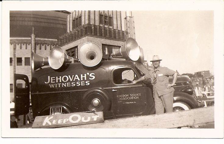 Sound Car - My dad (Jim) took this photo 1941 (Roger Johnson)