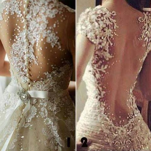 76 best vestidos de boda images on Pinterest | Gown wedding, Nice ...